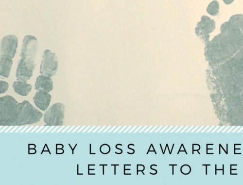 To the parent whose baby has died (from the doctor who cared